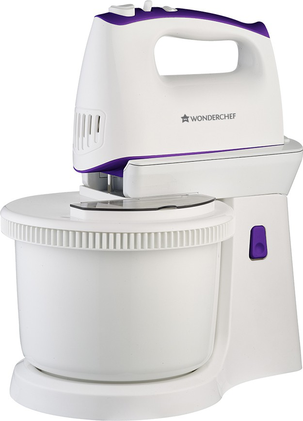 29bc43655 Wonderchef Regalia Stand Mixer 400 W Hand Blender(VoiletIIWhite) Price in  India 29 May 2019
