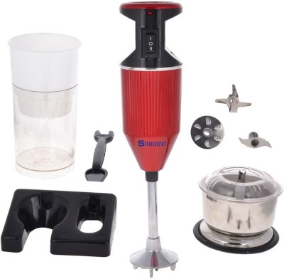 Sunmeet SMRed with Attachment 200 W Hand Blender