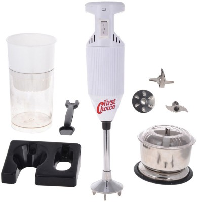 First Choice FCWhite with Attachment 200 W Hand Blender
