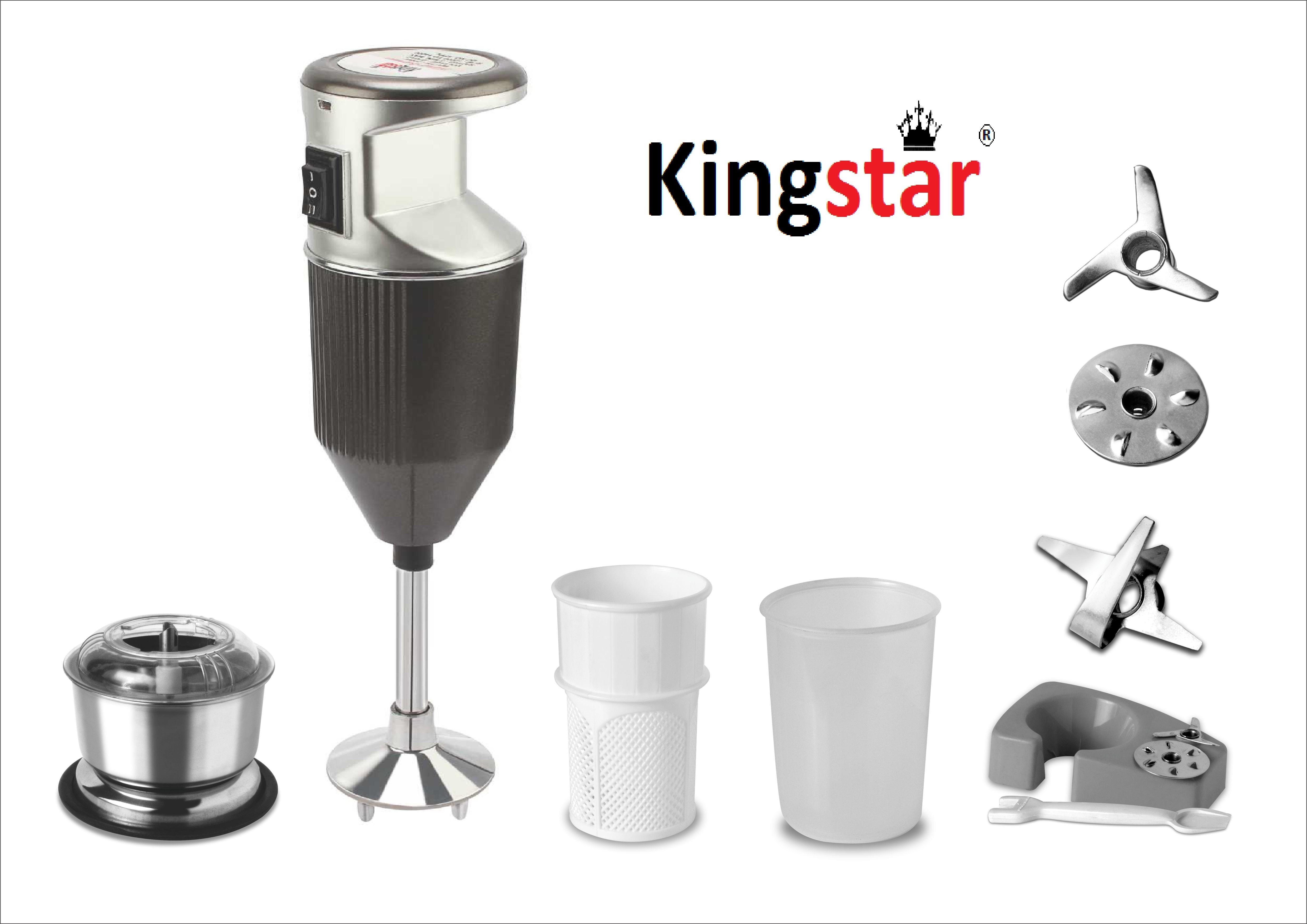 Kingstar Bmw Gery 200 W Hand Blender(Grey)