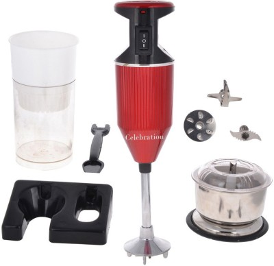 Celebration CelebRed with Attachment 200 W Hand Blender