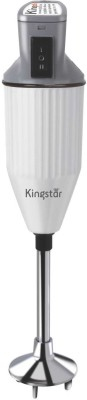 Kingstar Blend Pro 200 W Hand Blender(Grey, White)