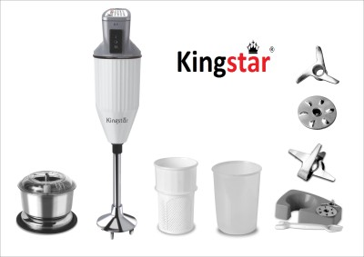 Kingstar HB11 200 W Hand Blender(Black, Red)