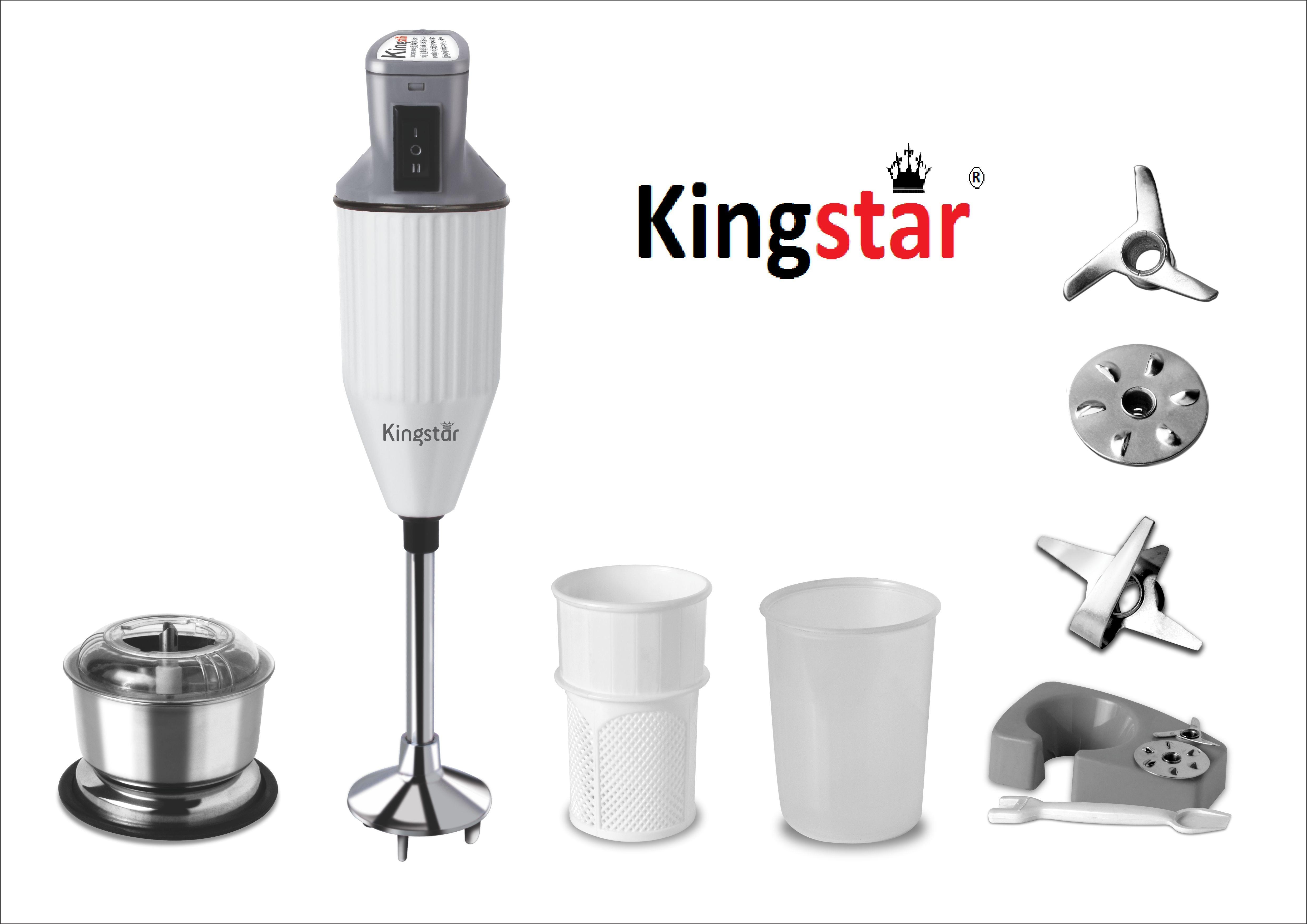 Kingstar HB11 200 W Hand Blender(Black, Red)