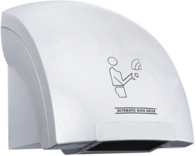 "Kitschâ""¢ ABS White Crescent Hi Speed Hand Dryer Machine"