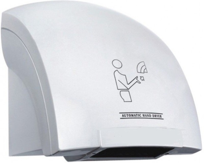 Kitsch™ ABS White Crescent Hi Speed Hand Dryer Machine