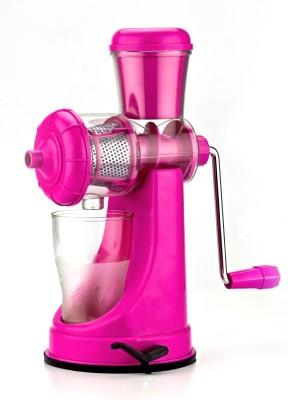 Genius Premium Plastic Hand Juicer(Pink)