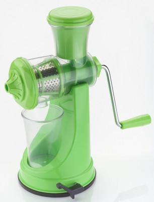 Jen Prime Green Plastic, Steel Hand Juicer(Green Pack of 1)
