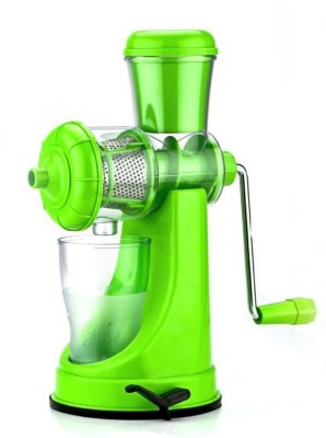 Shrih Portable Plastic, Stainless Steel Hand Juicer(Green) at flipkart