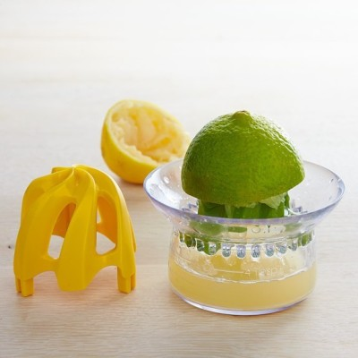 MOG 2-in-1 Citrus Plastic Hand Juicer(Yellow)