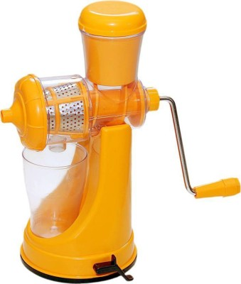 V Square Plastic Hand Juicer(Yellow) at flipkart