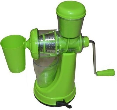 Shrih Fruit and Vegetable Plastic Hand Juicer(Green) at flipkart