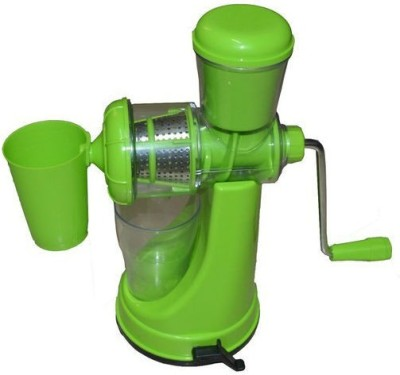 Shrih Vegetable And Fruits Plastic, Stainless Steel Hand Juicer(Green Pack of 1) at flipkart