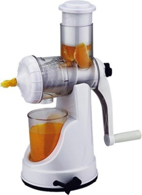 Hariom Enterprises Vegitable And Fruit Cutter Plastic Hand Juicer at flipkart
