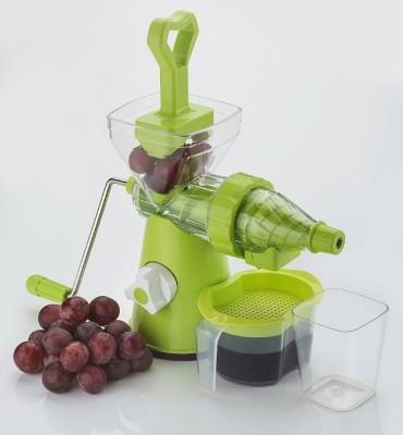 Jen Premium Green Plastic, Steel Hand Juicer