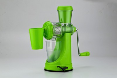 Rock Plastic, Stainless Steel Hand Juicer(Green, Yellow)