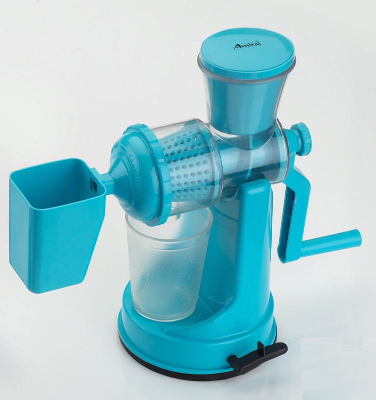 Amiraj Plastic Hand Juicer(Blue Pack of 1)