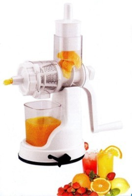 RajHeera Fruit and Vegetable Plastic Hand Juicer(White Pack of 1)