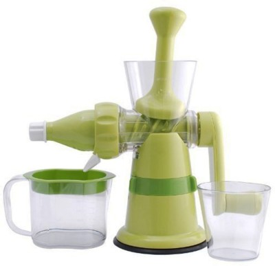 Gold Dust Shreeji Fruit & Vegitable Manual Plastic Hand Juicer(Green)