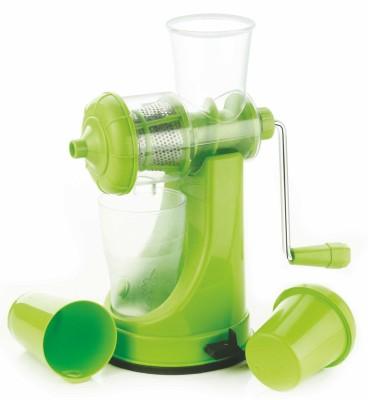 Genius Premium Plastic Hand Juicer(Green)