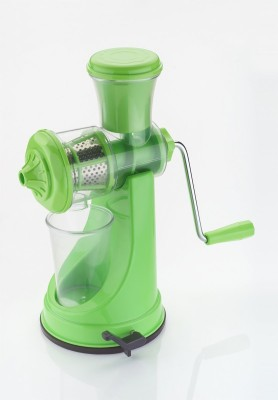 Active Fruit & Veg Plastic, Stainless Steel Hand Juicer(Green Pack of 1)