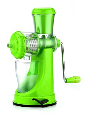 Shrih Fruits & Vegetable Plastic Hand Juicer(Green Pack of 1) at flipkart