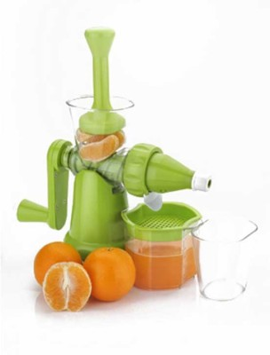 Noorstore Fruits & Vegetable Plastic Hand Juicer(Green Pack of 1)