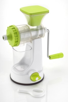 Ganesh Smart Fruit & Vegetable Plastic Hand Juicer(White, Green Pack of 1) at flipkart