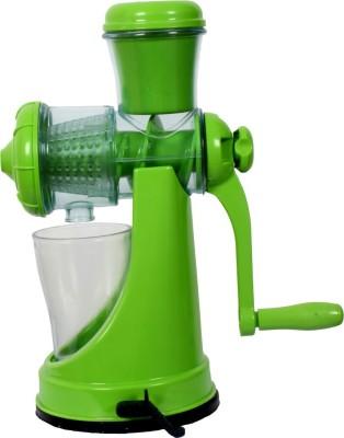 Apex Fruit and Vegetable Plastic, Stainless Steel Hand Juicer(Green Pack of 1) at flipkart