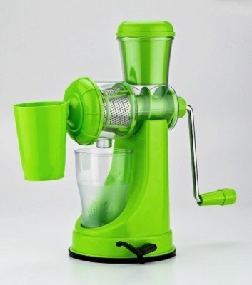 Aesha Fruit And Vegetable Plastic, Stainless Steel Hand Juicer at flipkart
