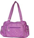 Monte Michelin Hand-held Bag (Purple)