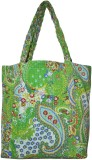 Lal Haveli Hand-held Bag (Green)