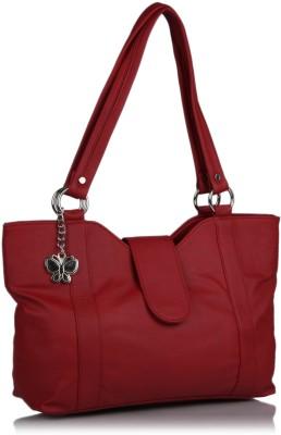 Butterflies Shoulder Bag(Red)