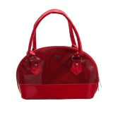 Goodwill Leather Art Hand-held Bag (Red)