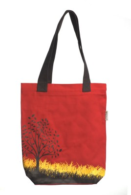 Orange Bunch Tote
