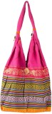 Khatri Handicrafts Messenger Bag (Pink)