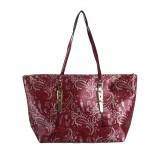 Peaubella Shoulder Bag (Maroon)