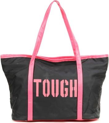 Flamingo Hand-held Bag(Black, Pink)