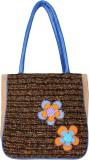 Anekaant Hand-held Bag (Beige, Brown, Bl...