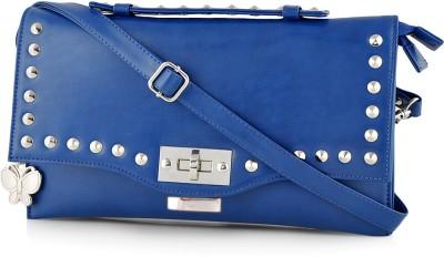 Butterflies Sling Bag(Blue)