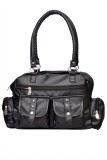 SMS Hand-held Bag (Black)