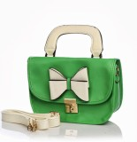 Cathriem Hand-held Bag (Green)