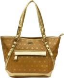 Peperone Shoulder Bag (Brown, Gold)
