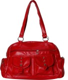 Naaz Bag Collection Hand-held Bag (Red)