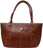 Belle Hand-held Bag (Brown)