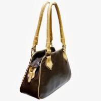 Jeane Sophie Hand-held Bag(Brown)