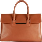 Beroza Handcraft Hand-held Bag (Brown)