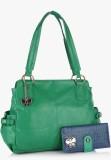 BUTTERFLIES Shoulder Bag (Green)