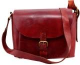 Bonafide Leathers Shoulder Bag (Red)