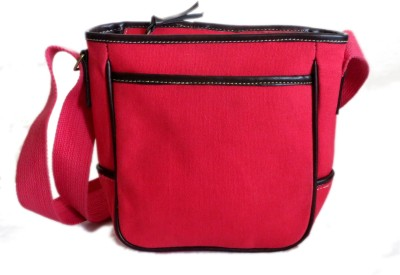 Needlecrest Messenger Bag(Pink-01)